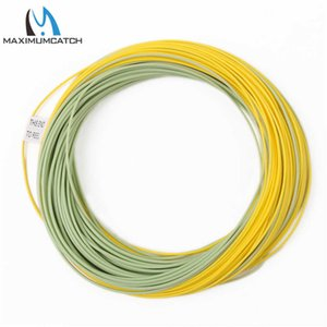 Maximumcatch 90FT-100FT 2 3 4 5 6 7 8 9wt Fly Fishing Line Weight Forward Floating With W Loop 210609