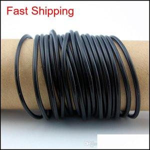 Jelly Glow Lot 100Pcs Men Womens Wristband Rubber Bands Unisex Bangles Black White Red Sil Bracelets Friendship Wristbands Dypws Qxbkn