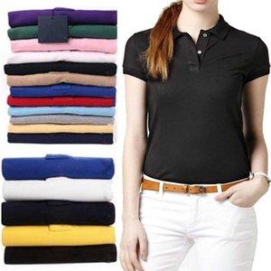 2021 Summer Men's Women Golf Shirts Cotton Breathable Crocodile Embroidery Polo Shirt Short Sleeve Top Wear Man polos shirts