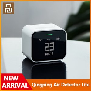 DHL Ship Original Youpin Smart Devices Qingping Air Detector Lite PM2.5 Detectors Temperature Humidity Meter Diagnostic Tool Supports for HomeKit and Mijia APP