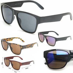الاستقطاب الرياضة النظارات للرجال النساء النساء الأزياء السوداء نظارات المرأة العلامة التجارية جودة المعادن خمر 5 نمط براون زهرة الأزرق اضافية كبيرة مربع فرملس uv 400 عدسة