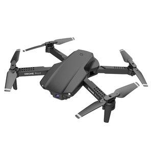 E99 Pro2 4K Drone HD Camera WiFi Remote Control Portable Drones Quadrocopter UAV Gesture Photo Video 2.4G Foldable FPV Headless Mode