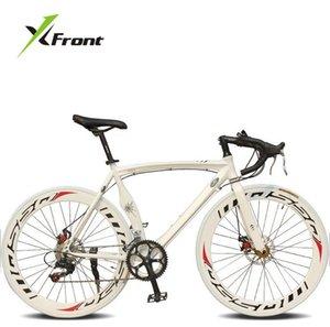 Оригинальные X-Front Brand Beart Hastway Disc Transke 700C 14 Speed Road Bike Алюминиевый сплав Bicicleta гоночные велосипеды велосипедов