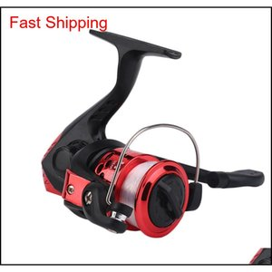 Accessories Sports Outdoors Drop Delivery 2021 Yumoshi Jl200 Electroplating Gear Ratio 5Dot1 1 Spinning Reel With Fishing Line 7Ccr6
