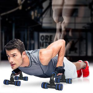 Steel Push-Ups Stand Home Fitness Equipment Pectoral Muscle Training Device Push-Ups Support Equipment High Quality