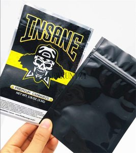 2021 RUNTZ JOKER UP INSANE BAG 3.5g ZOURZ SHARKLATO BURZT THKAX Smell Proof Bags Vape Packaging for Vaporizer with 6kinds mylar bag