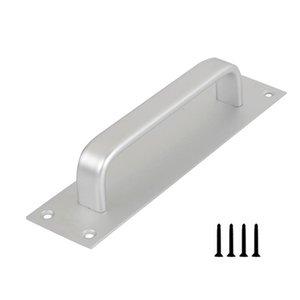 Handles & Pulls Aluminum Alloy Sliding Door Handle Kitchen Barn Window Easy Install Garage Hardware Home With Screws Cabinet Closet Drawer G