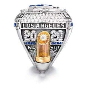 2021 al por mayor 2020 La campeonato anillo anillos Dodge Fashion Champion Ring Fan Gift Wholesale Drop Shipping