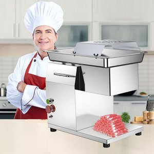 Meat Grinders Restaurant El Kitchen Commercial Price Electric Automatic Fresh Beef Cutter Slicer Cutting Machine 220V