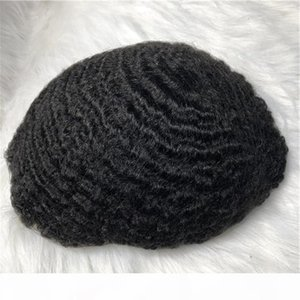 Hot sell Large stocks natural color wholesale super thin skin mens wigs virgin hair human toupee