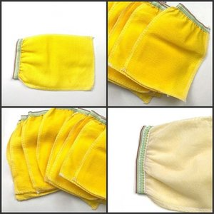 Morocco bath scrubbing gloves hammam scrub magic peeling glove exfoliating tan removal mitt normal coarse feeling 305 R2 PYB0