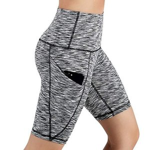 30H Women High Waist Leggings Out Pocket Shorts Running Athletic Shorts Fitness Oversized Sports Short Pants Droshipping