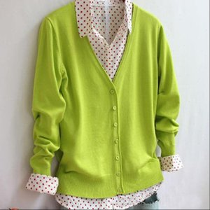 arrived women clothing Sweater candy color knitted cardigan long sleeved brand ZY653