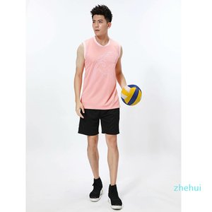 volleyball Men's and women's racquet suits custom-made outdoor sports short-sleeved team training uniforms student competition jerse