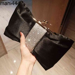 New fashion exquisite pleated dinner Korean style slant across women's chain butterfly bag