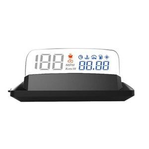 Мотоцикл лобового стекла доска автомобиля Универсальный автомобиль Smart Hud Display Digital Mini Dashboard Heads Up