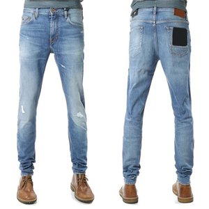 21Ss Man Jeans Новый повседневный дизайнер DEDNIM BAND Imported Высокое качество промывают джинсовые растягивающие ткань дышащие и удобные брюки
