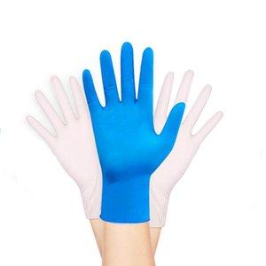 Одноразовые перчатки 20 шт. Нитриновая латексная посудомоечная мытье Кухня Рабочая аллергия БЕСПЛАТНО БЕСПЛАТНО Anti-Static Nail Art Place