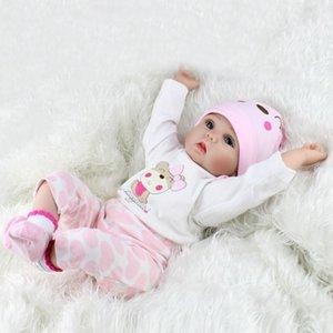 43cm Baby Toys Kids Infant Toddler Lifelike Reborn Baby Doll Newborn Doll Kids Girl Playmate Birthday Gift Gifts