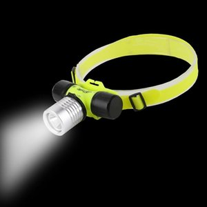 Mode LED Rechargeable Diving Headlamp Underwater Waterproof Torch Light Headlamps