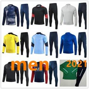 menmen tracksuit football training 20 20 high quality adult tracksuit soccer training survetement de foot chandal jogging S-XXXL