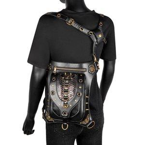 السيدات أفعواني السيدات الشرير برشام حقيبة 2021 بو الجلود الأزياء النسائية في الهواء الطلق الكتف حزمة الخصر متعددة الوظائف