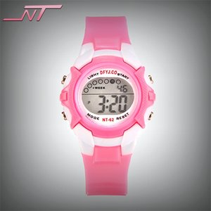 Electronic student multifunctional 5-15-year-old color children waterproof boy girl electronic watch