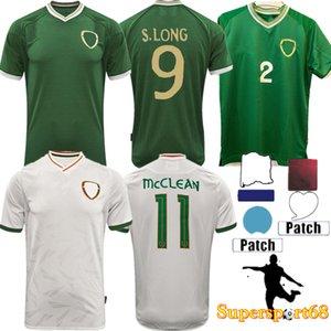 21 22 Fussball Trikots Duffy Brady Nationalmannschaft Set Irland McClean Men S.Long Robbie Keane Uniformen Kids Kit 2021 Irlands Weltmeisterschaft