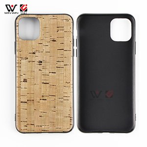 Water proof Phone Cases For iPhone 6s 7 8 Plus 11 12 Pro X XR XS Max Natural Soft Cork TPU 2021 Luxury Custom Design LOGO Back Cover Shell