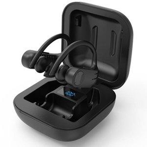 Headphones & Earphones Wireless Retractable, Neck-mounted Earbuds Sports In-ear Headphones, Sweat-proof With Microphone