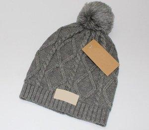 Luxusmützen Hight Qualität Männer und Wolle Gestrickte Hut Klassische Sportschädelkappen Frauen High-End Casual Gorros Bonnet 297