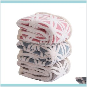 Textiles Home & Gardenwinter Warm Double European Thickening Office Blankets Plush Throw Blanket 130X160Cm1 Drop Delivery 2021 Vwyqp