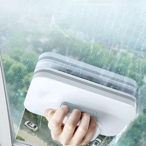 Yorede Manyetik Cam Silecek Yıkama Pencere Mıknatıslar Çift Yan Temizleme Fırçası Manyetik Fırça Yıkama için Windows Ev Temizleme Aracı 210329