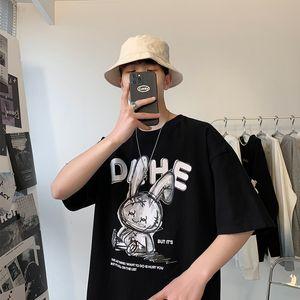 Luxury T-shirts 310 Kg Large Short Sleeve T-shirt Loose Casual T-shirt Fashion Men's Clothing Fat Man