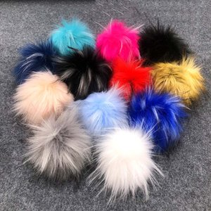Multicolor Plush Ball Crafts for Shoes Clothing Bags Accessories Imitation Animal Hair Plushies Balls Pendant
