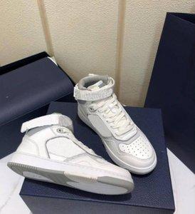 Дизайнер B27 Кроссовки Печатные Натуральные Кожаные Кроссовки Досуг Низкая Верхняя Высокая Верхняя Повседневная Обувь Мода Кожаные кроссовки