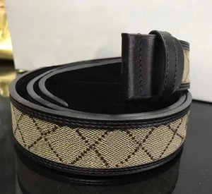 2021 Fashion Women Belts Big buckle Brown color leather with box high quality mens belt