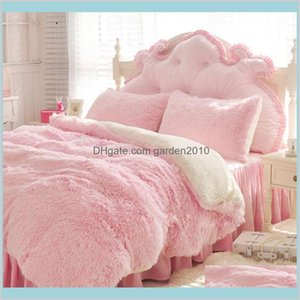 Blankets Home Textiles & Garden Super Soft Long Shaggy Fuzzy Faux Fur White Pink Grey Blanket Warm Elegant Cozy Fluffy Sherpa Throw Be