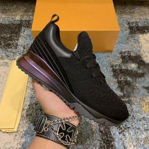 2021 Ins Mann Casual Schuhe Luxus Design Sneaker Echtes Leder Mesh Tehe Rennläufer im Freien Trainer