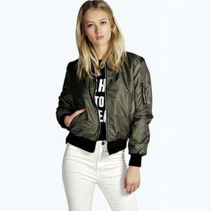Fashion Women Windbreaker Spring Autumn Coats Long Sleeve Basic Bomber Thin Women's Jacket Female Jackets Outwear