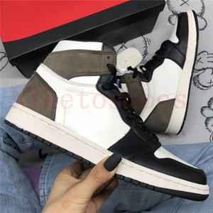 Sports Dark Mocha Sneakers Fearless UNC Chicago Women Casual Shoe White Brown Black Maison Chateau Melody Ehsani Mens Shoes