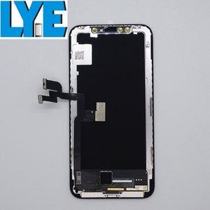 LCD ل iphone x gx لينة oled عرض شاشة اللمس محول الأرقام كاملة إصلاح أجزاء إصلاح أجزاء