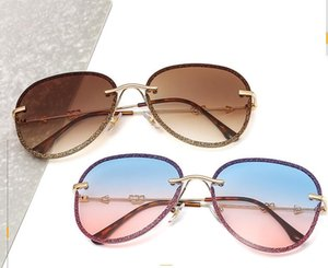 Fashion Luxury Designer Womens Sunglasses Outdoor Sport Summer Beach Vintage Metal UV400 Glasses Colorful Lens