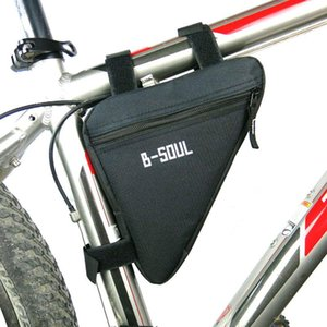 Cycling Bags 1.5L Outdoor Front Frame Head Triangle Storage Pouch Bag Waterproof Bicycle Saddle