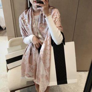 90-180 cm Marka Atkılar Bayan Kıdemli Uzun Tek Katmanlı Şifon İpek Şallar Moda Turizm Yumuşak Tasarımcı Lüks Hediye Baskı Eşarp