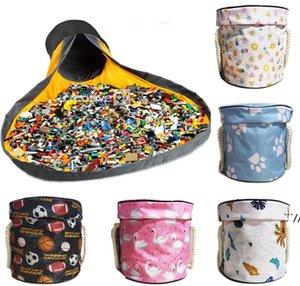Sac de rangement jouet Toybags Blocs Play Tapis Sacs Jouets Toys Slideaway Nettoyage et Lego StorageContainer Organisateur Panier multifonctionnel DWB5996