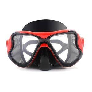 Adultos Mujeres Hombres Ajustable Natación Entrenamiento Buceo, Natación, etc. Buceo 80mm 65mm Máscara Gafas de 20mm Sólido