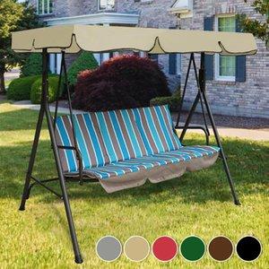 Shade Garden Swing Canopy Top Top Tuber Impermeable Silla al aire libre Hamaca Techo Reemplazo Toldo
