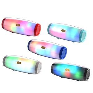 TG165 Bluetooth-динамик светодиодные вспышки портативный аудиоплеер стерео звукового звука HIFI сабвуфер глубокий бас-динамик 1200 мАч музыкальная коробка