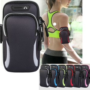 """Waterproof Sports Armband Cell Phone Case 6.5"""" Universal Sport Arm Band Running Workout"""